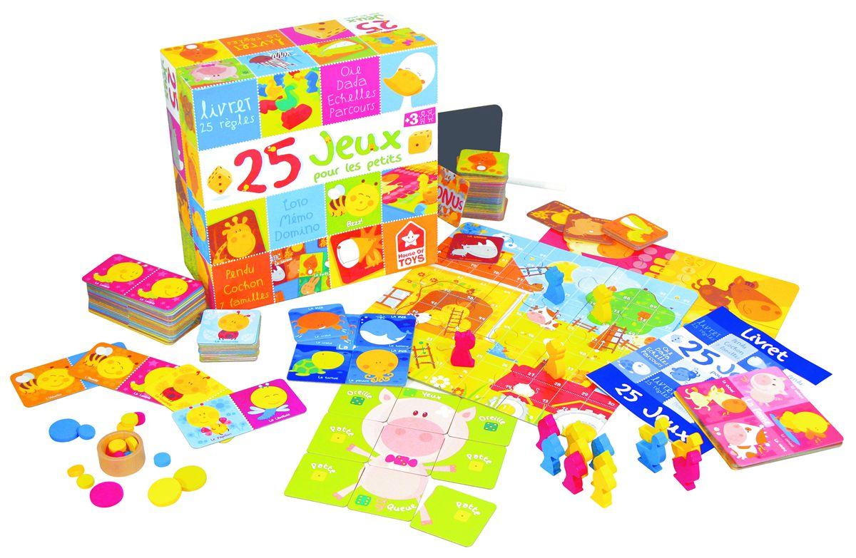 Coffret 25 Jeux Pour Enfants - Jeux Traditionnels Et Poker encequiconcerne Jeux Pour Petit Enfant