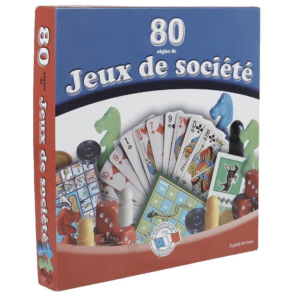Coffret 80 Règles De Jeux De Société destiné Jeux Gratuit 4 Ans