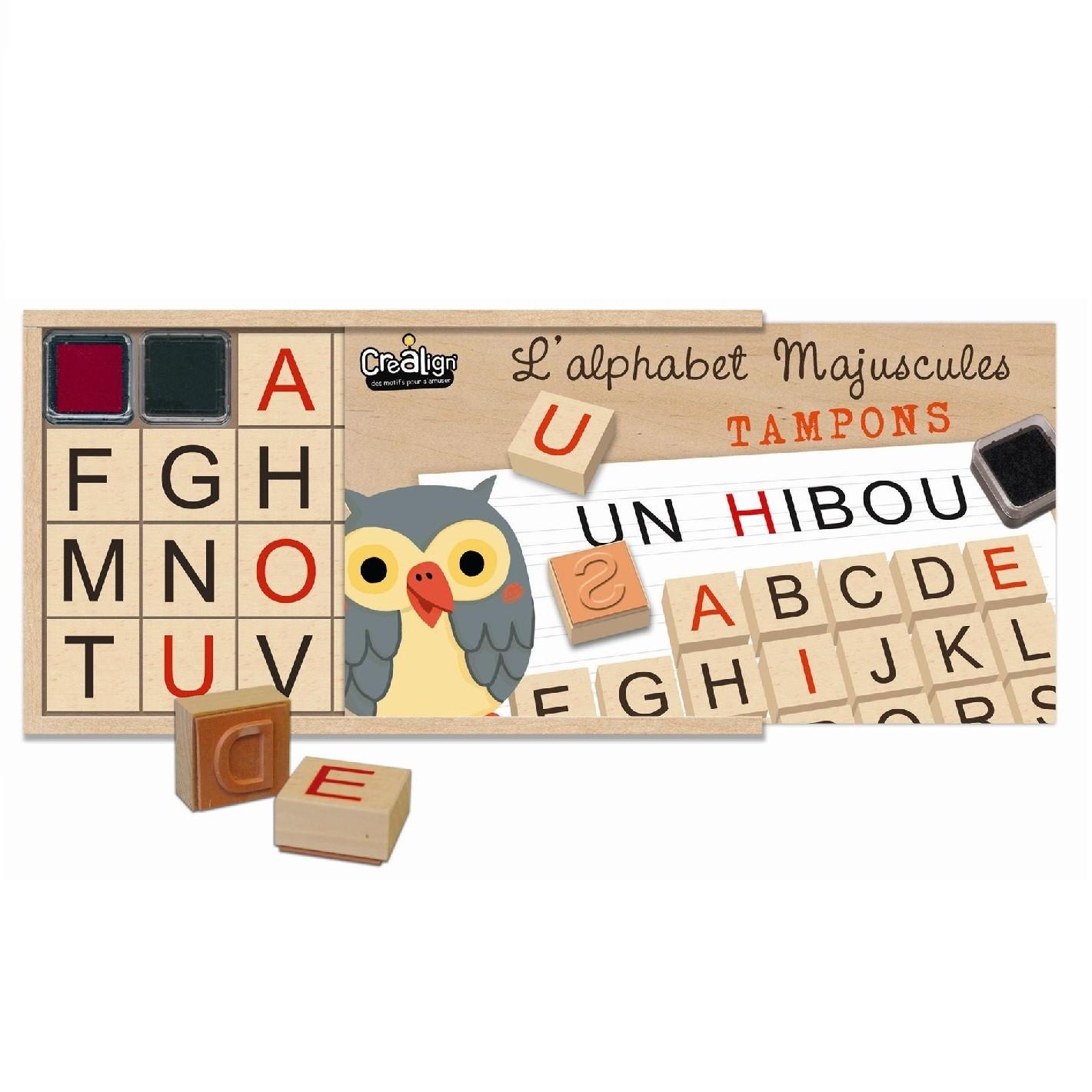 Coffret Alphabet Majuscule - Ouad intérieur L Alphabet En Majuscule