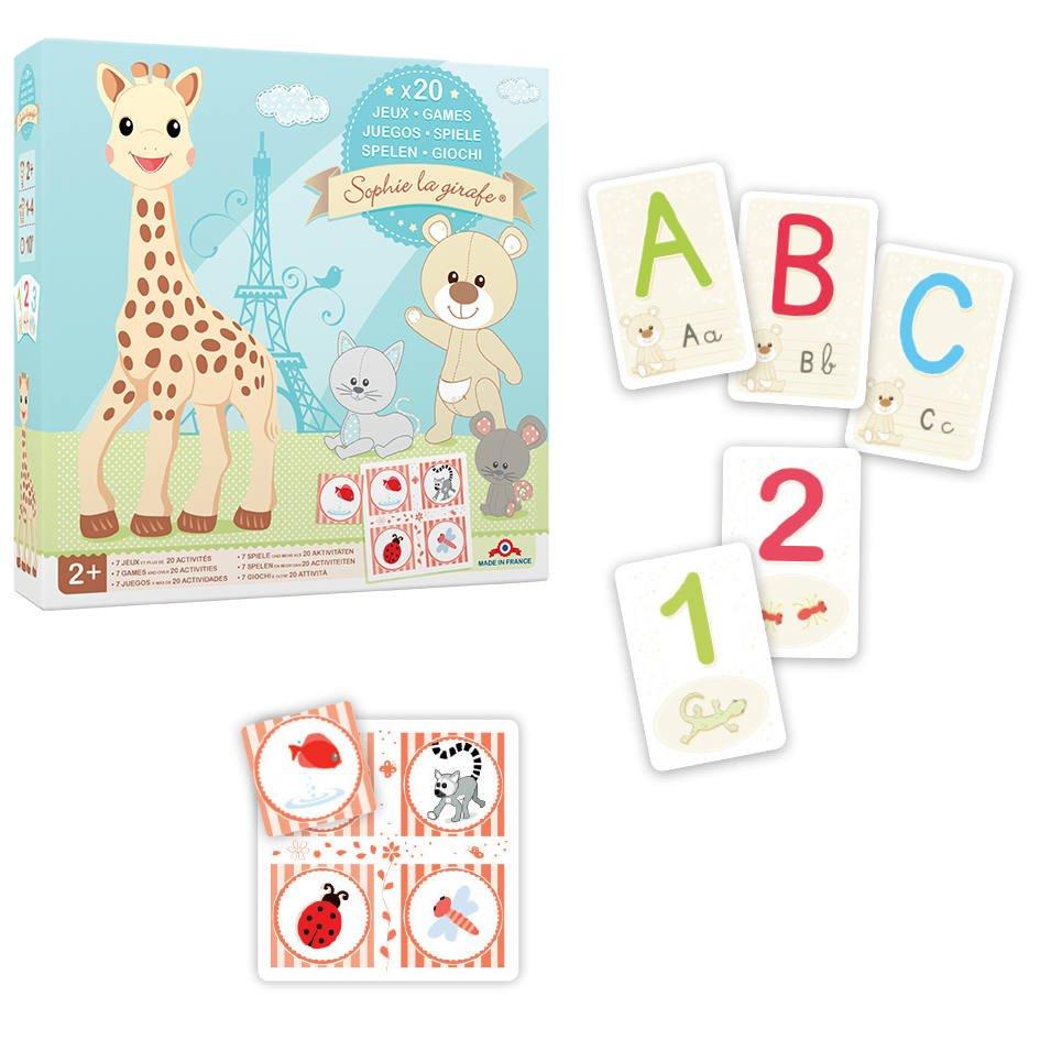 Coffret De Jeux Sophie La Girafe | 2 Ans | Jouéclub pour Jeux De Girafe Gratuit