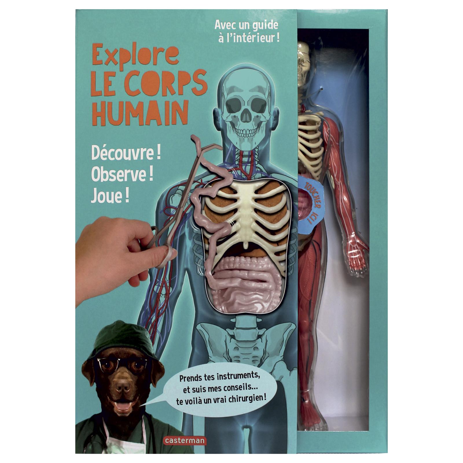 Coffret Explore Le Corps Humain dedans Jeux De Squelette Gratuit