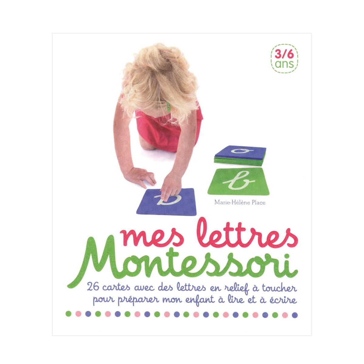 Coffret Mes Lettres Montessori encequiconcerne Jeux De Lettres Enfants