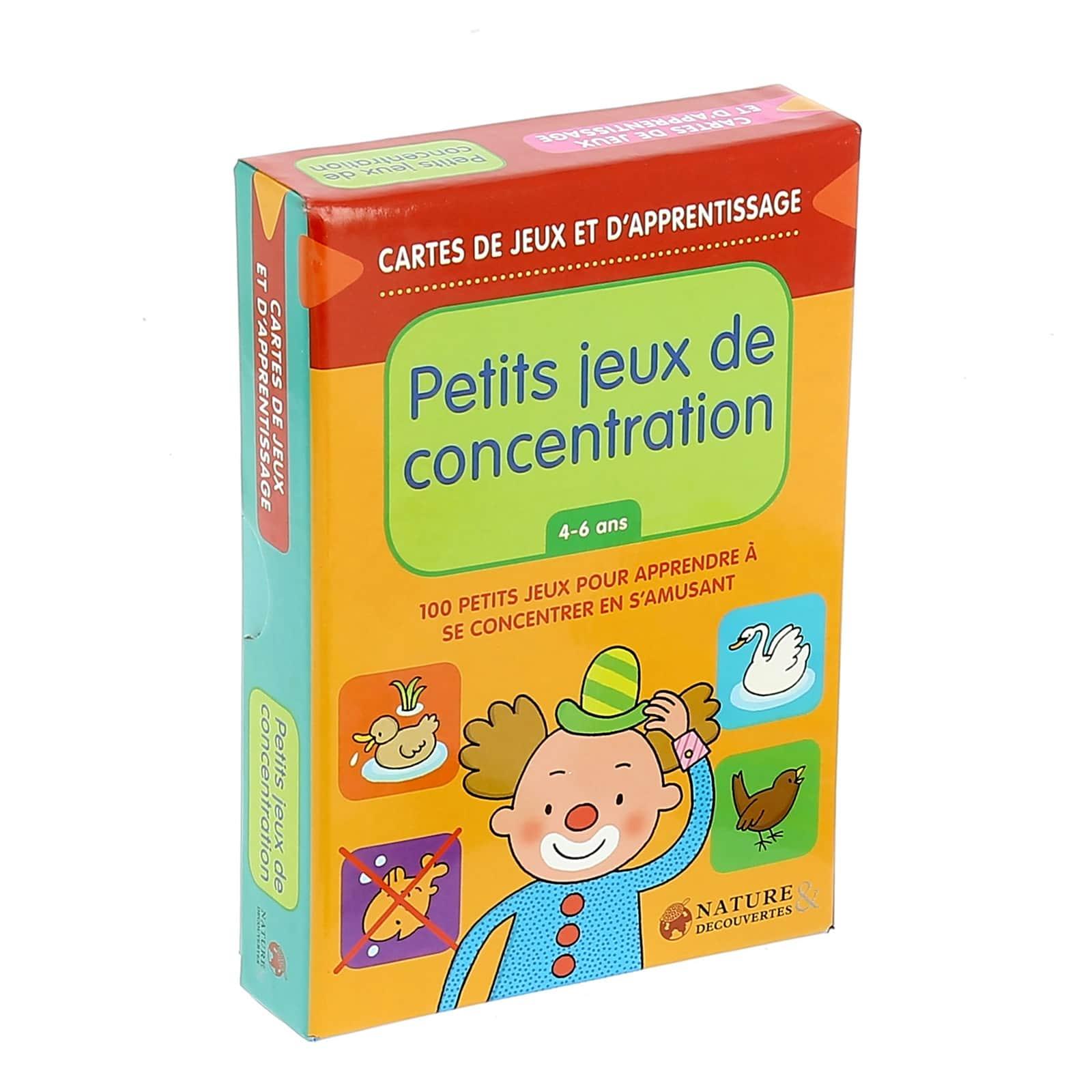 Coffret Petits Jeux De Concentration serapportantà Jeux Pour Petit De 4 Ans