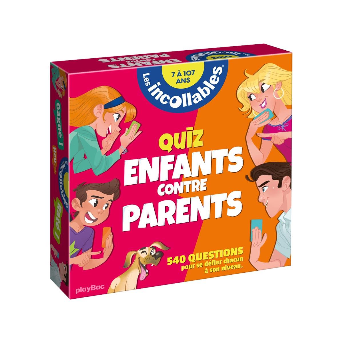 Coffret Quiz Enfants Contre Parents concernant Quizz Pour Maternelle