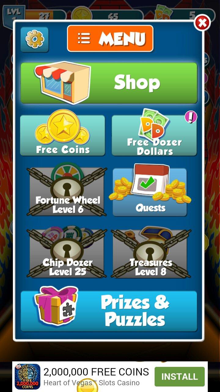 Coin Dozer - Prix Gratuits 21.1 - Télécharger Pour Android avec Jeux De Piece Gratuit