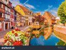 Colmar France June 14 2017 Beautiful | Buildings/landmarks encequiconcerne Region De France 2017