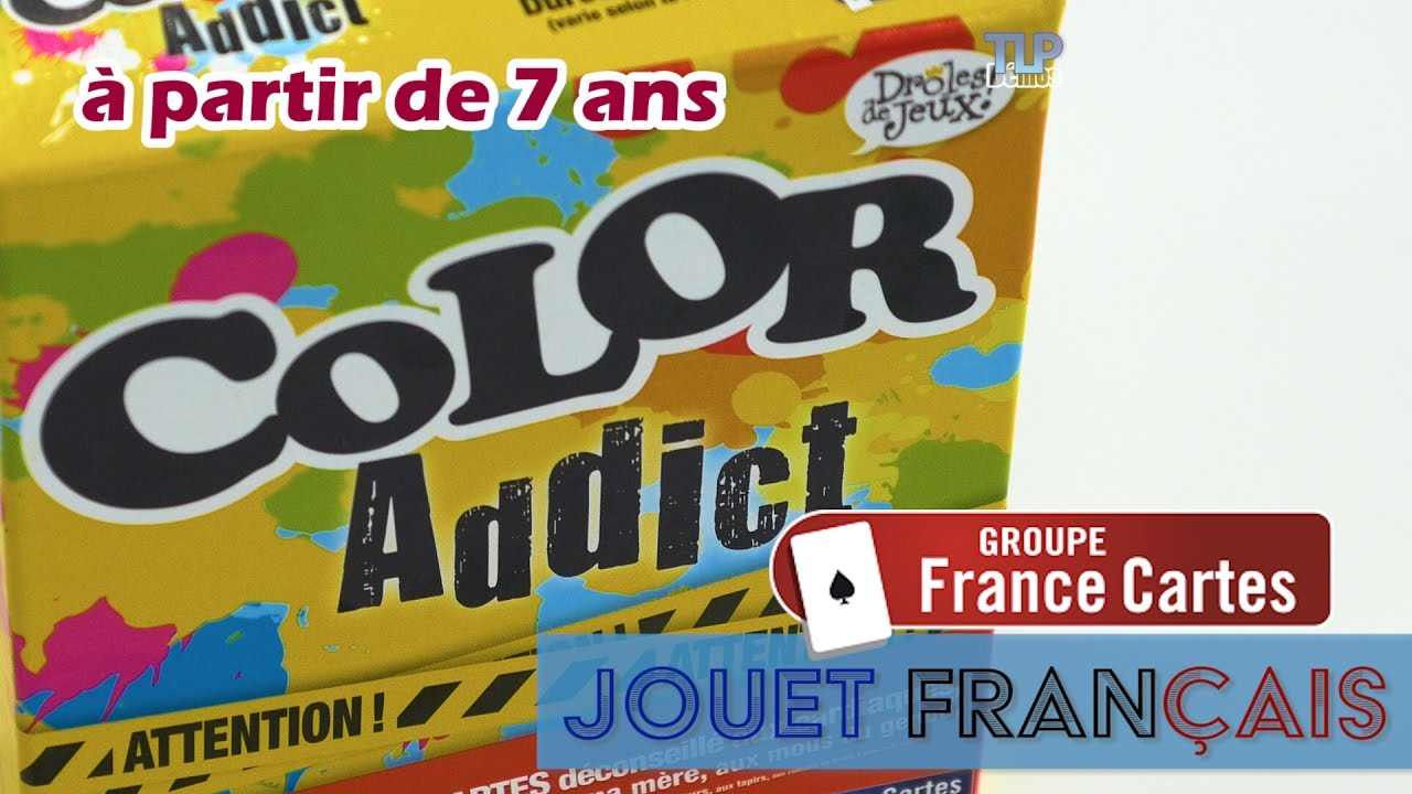 Color Addict De France Cartes - Démo Du Jeu D'ambiance destiné Jeu Carte De France