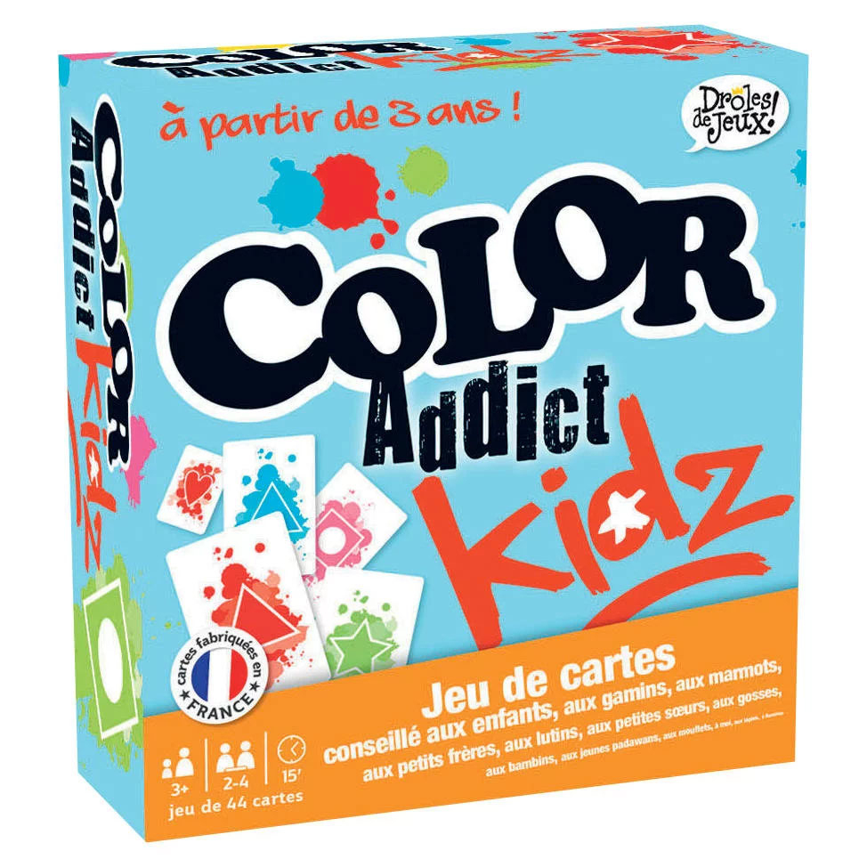 Color Addict Kidz concernant Jeu Carte De France