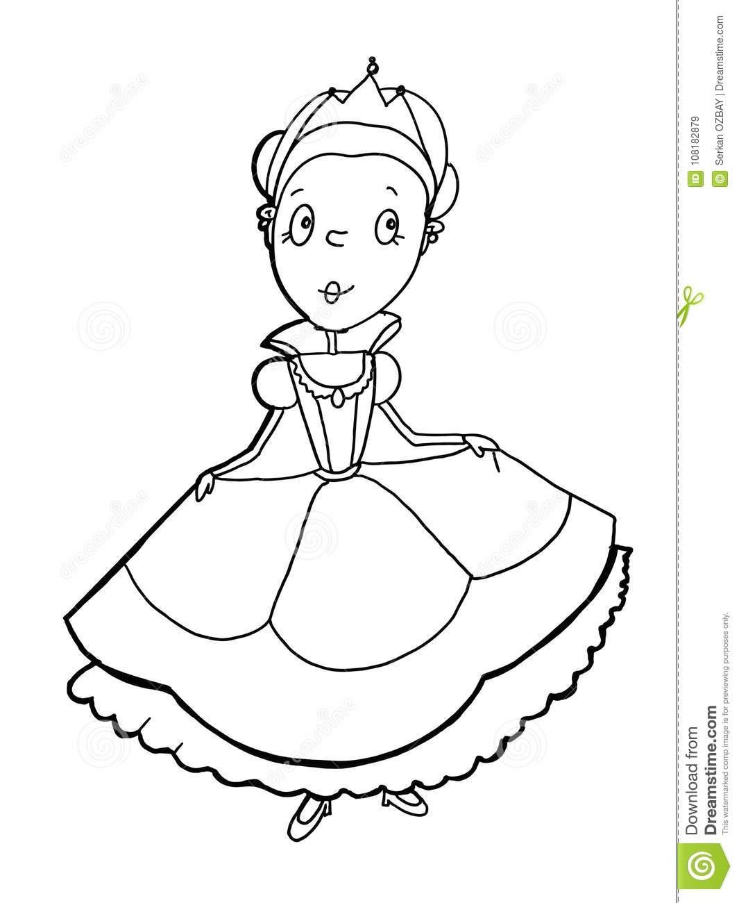 Coloration De Dessin De Bande Dessinée De Roi De Dessin D avec Chateau Princesse Dessin