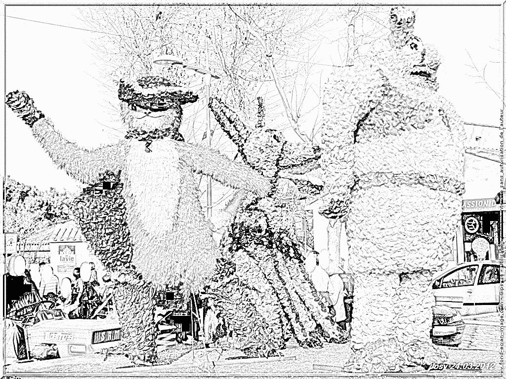 Coloriage 191 Carnaval Char Le Chat Botte À Imprimer Pour encequiconcerne Coloriage De Carnaval A Imprimer Gratuit