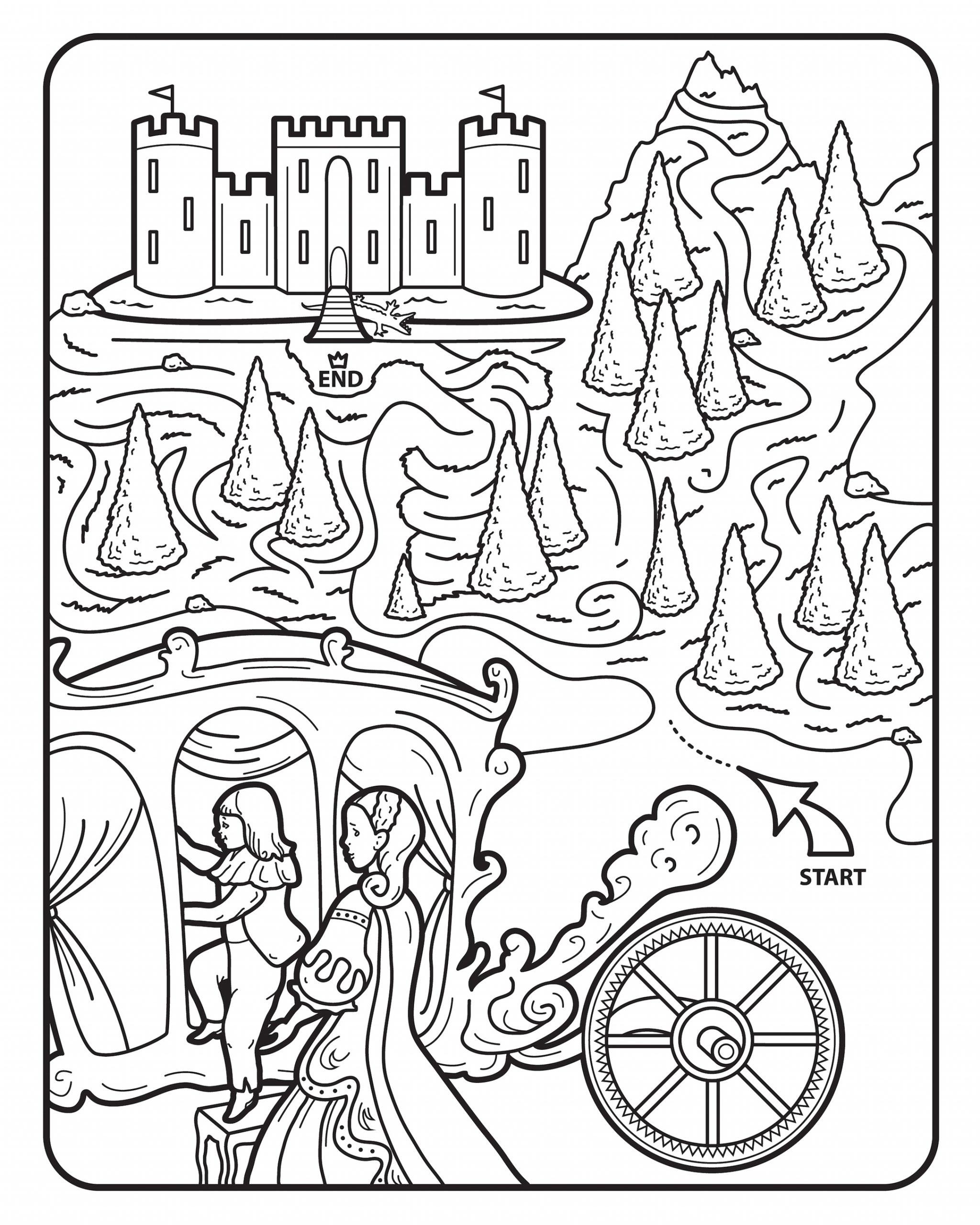 Coloriage À Imprimer : Pour Quel Coloriage Princesse Craquer pour Coloriage À Imprimer Chateau De Princesse