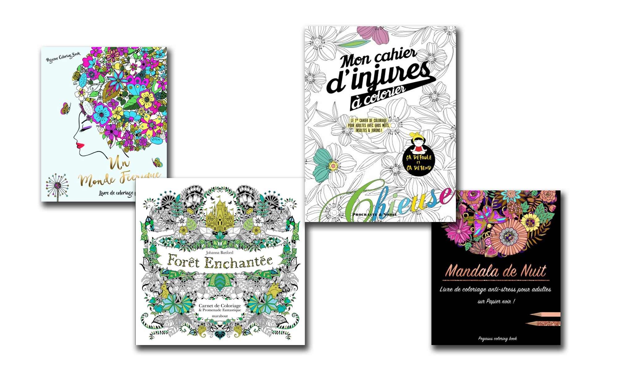 Coloriage Adulte : Les 10 Livres Les Mieux Notés Sur Amazon serapportantà Tous Les Coloriages Du Monde