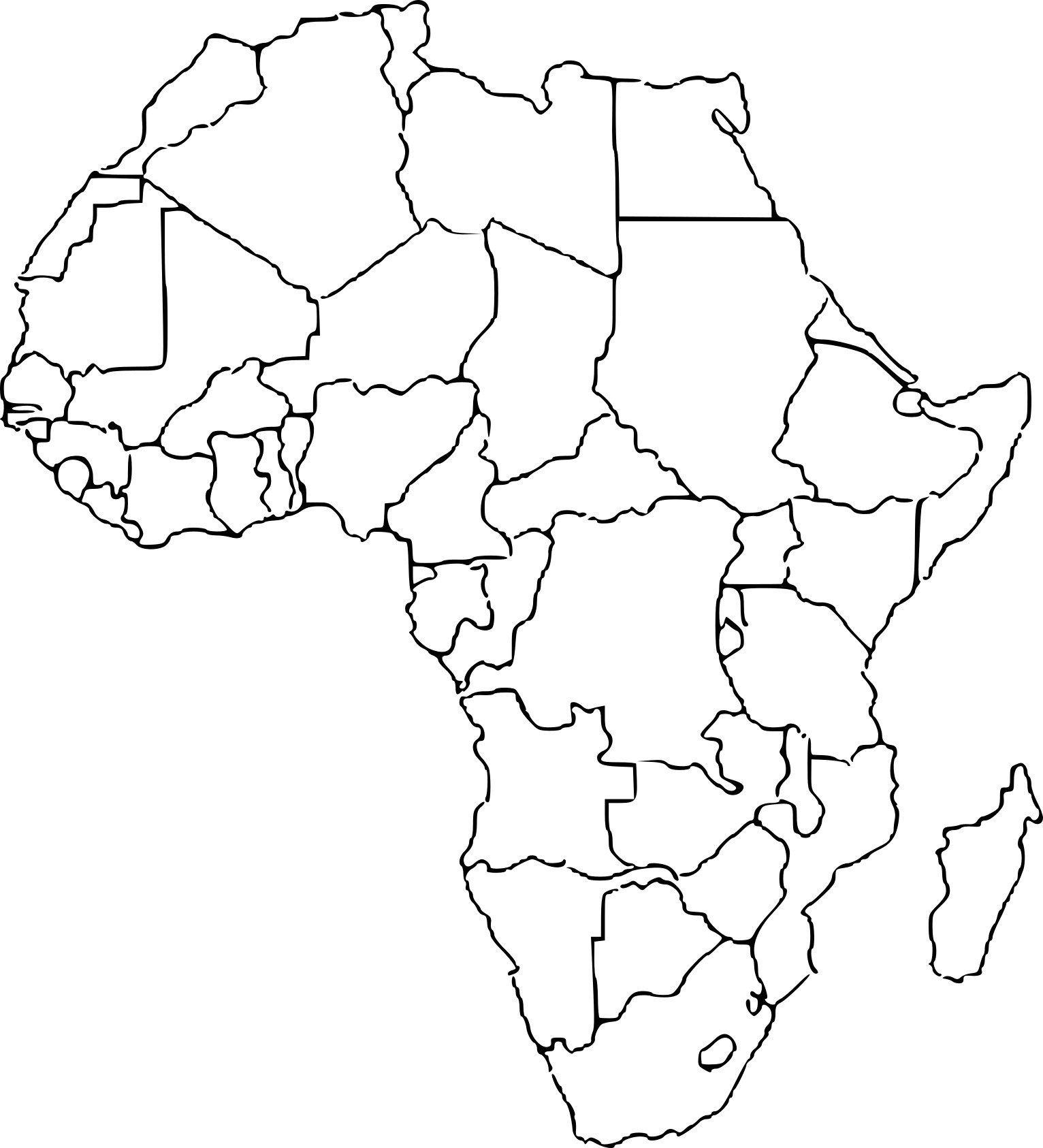 Coloriage Afrique À Imprimer Sur Coloriages dedans Coloriage Afrique À Imprimer