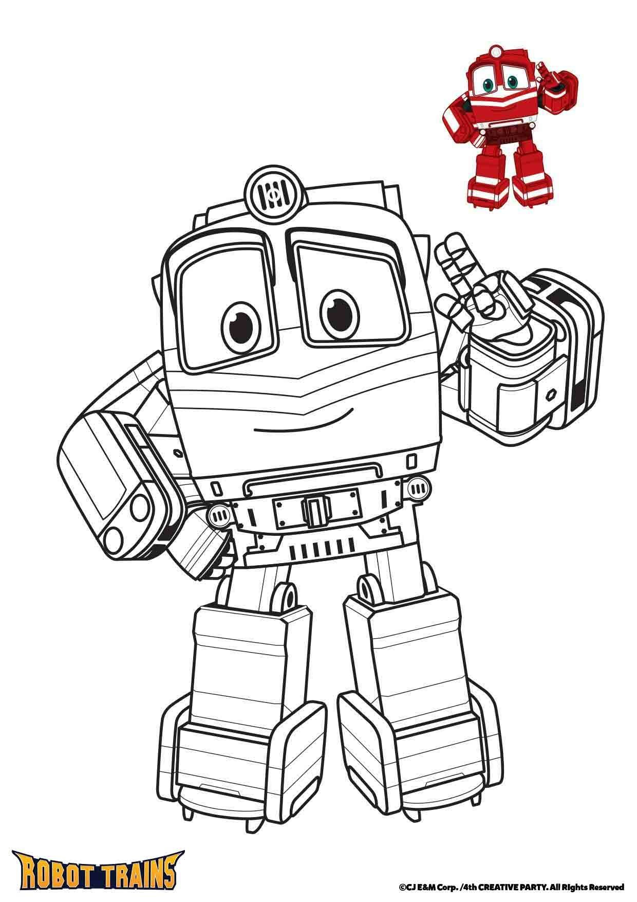 Coloriage Alf - Coloriage Robot Trains - Coloriages Dessins dedans Coloriage Robot À Imprimer