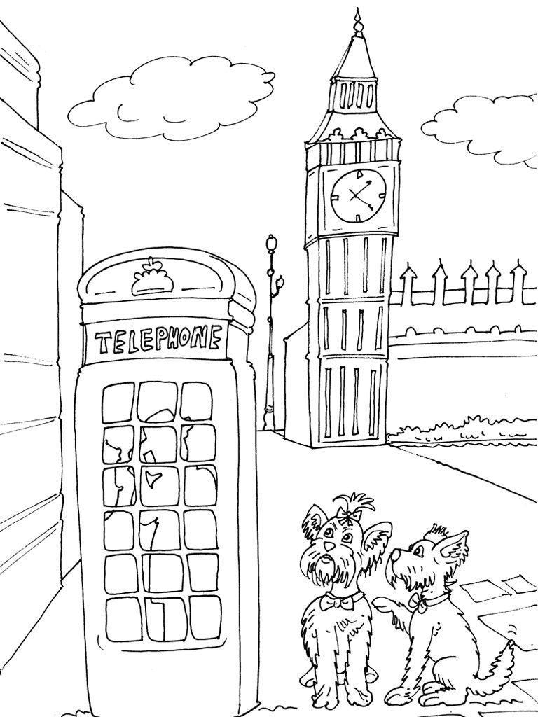 Coloriage Angleterre 17 - Coloriage Angleterre - Coloriages concernant Dessin De Angleterre