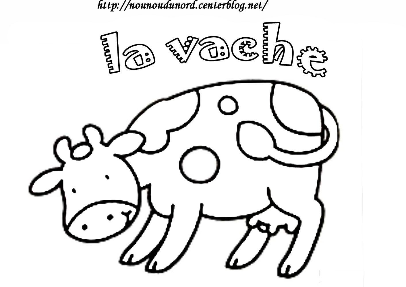 Coloriage Animaux De La Ferme concernant Dessin Animaux De La Ferme À Imprimer
