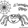 Coloriage Araignee concernant Dessiner Une Araignee