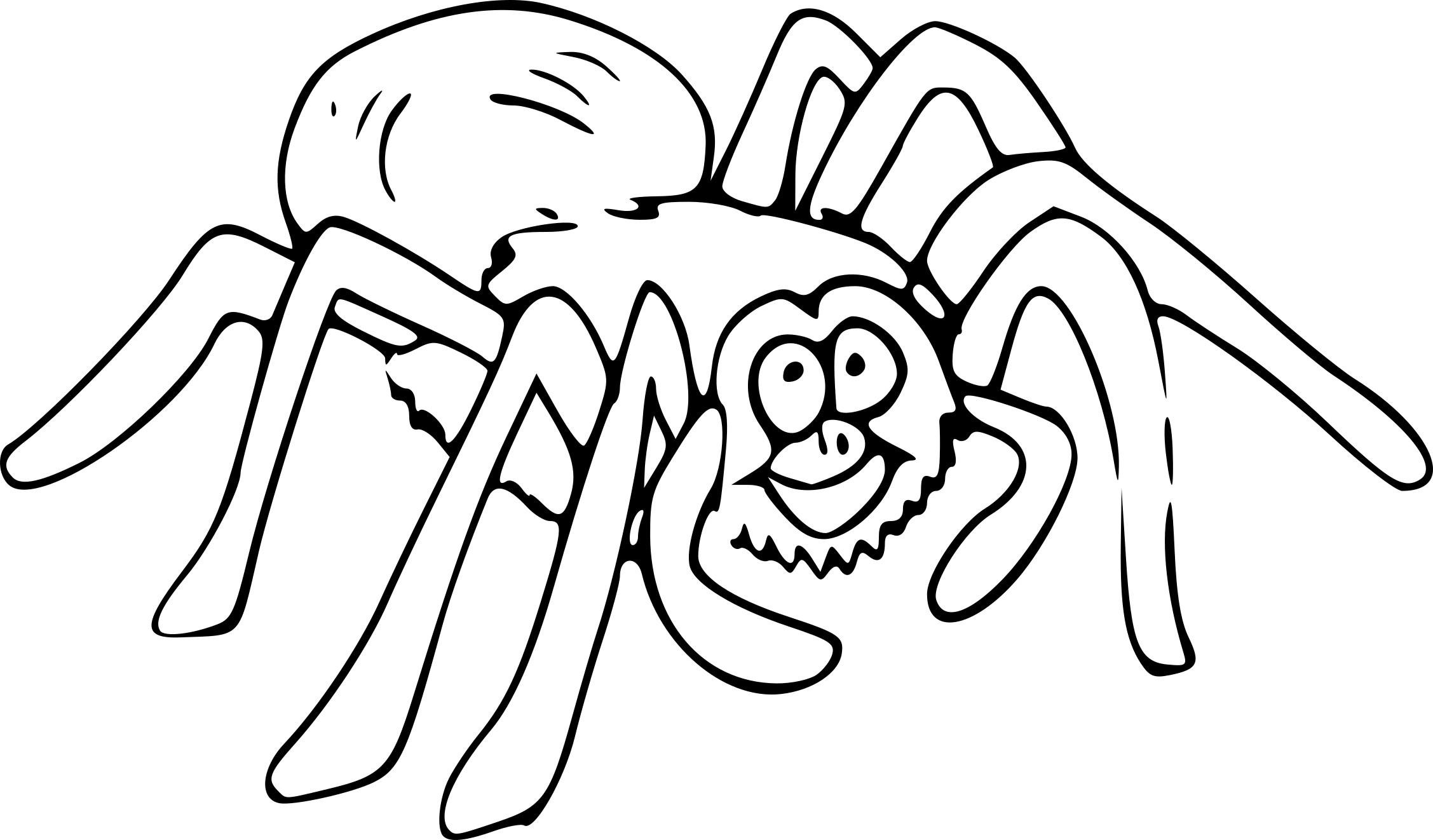 Coloriage Araignée Dessin À Imprimer Sur Coloriages pour Dessiner Une Araignee