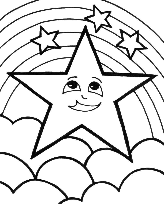 Coloriage Arc En Ciel. Imprimer Gratuitement Sur Le Site, 60 encequiconcerne Arc En Ciel A Colorier