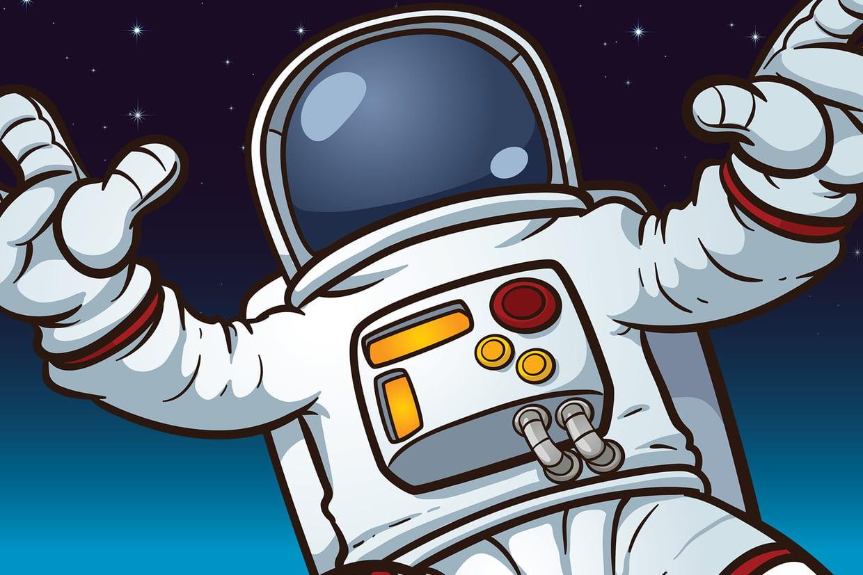 Coloriage Astronautes Et Cosmonautes Sur Hugolescargot destiné Coloriage Astronaute