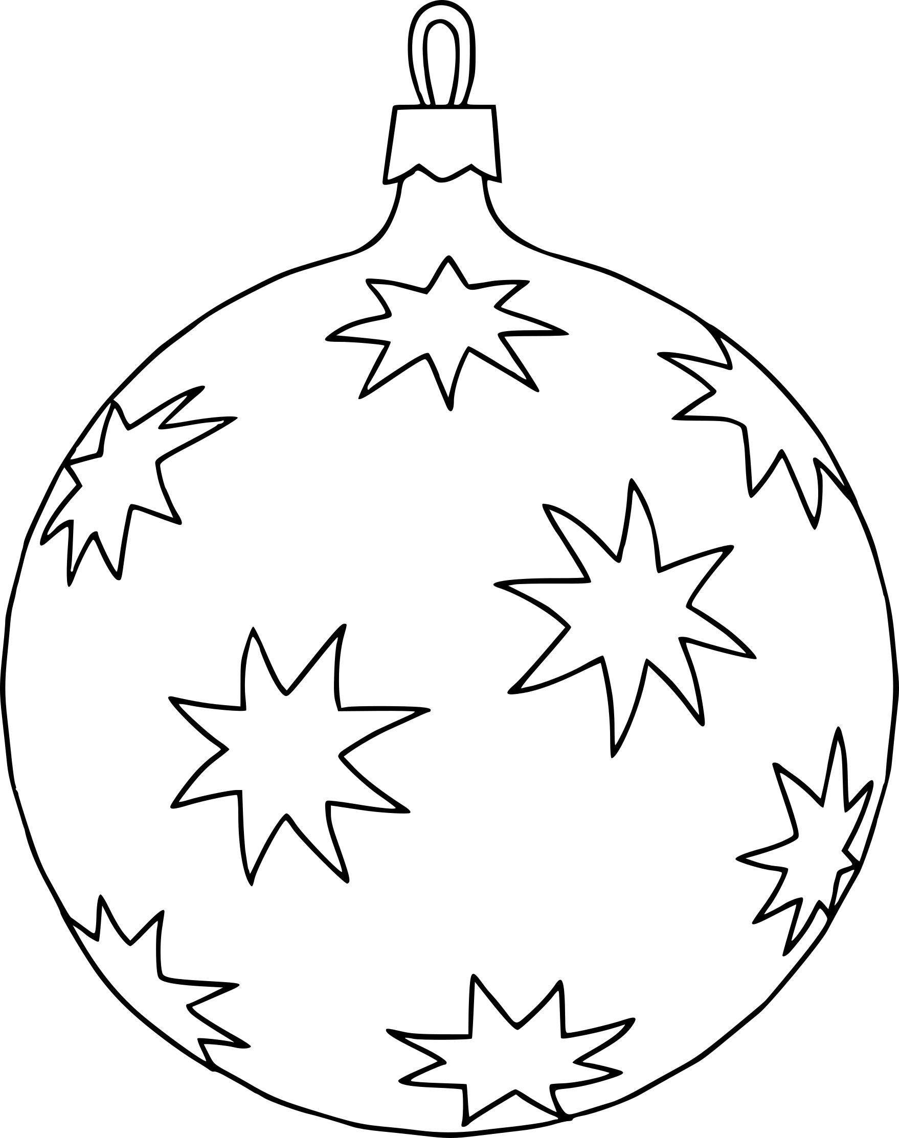 Coloriage Boule Sapin De Noël À Imprimer pour Coloriage De Sapin De Noel A Imprimer Gratuit