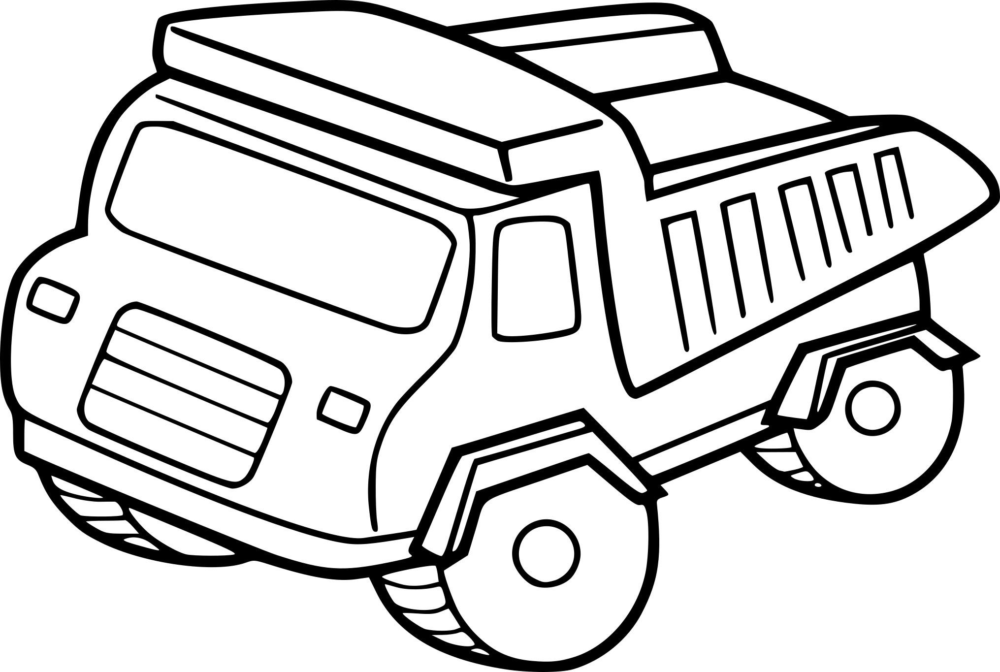 Coloriage Camion Pour Enfant À Imprimer Sur Coloriages Tout encequiconcerne Dessin Pour Enfant À Colorier