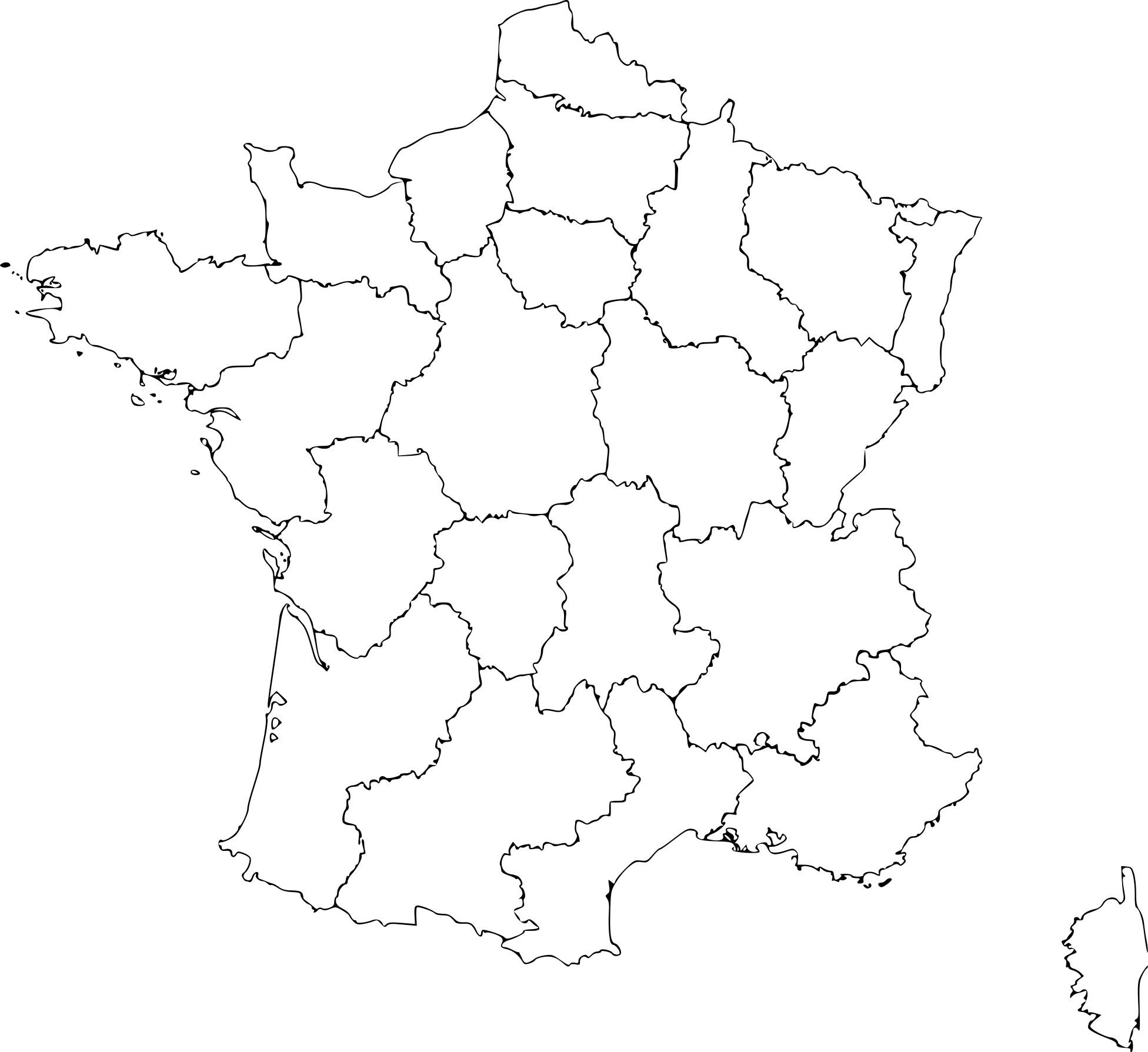 Coloriage Carte De La France À Imprimer Sur Coloriages dedans Carte De France A Imprimer