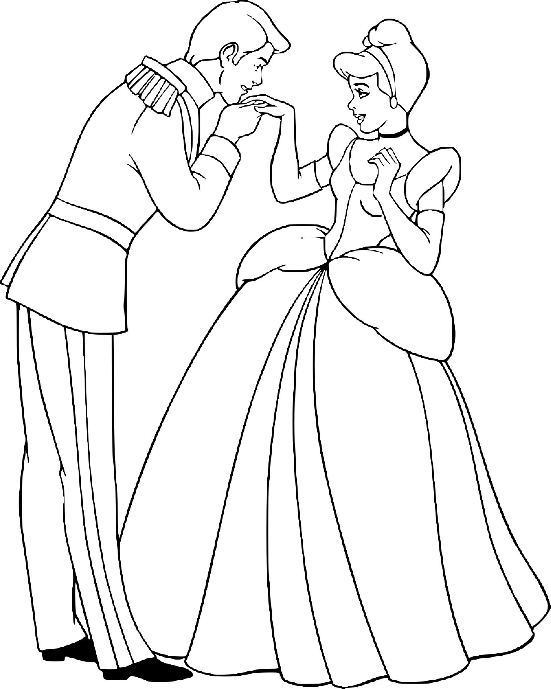 Coloriage Cendrillon Prince À Imprimer Sur Coloriages concernant Cendrillon Dessin A Imprimer