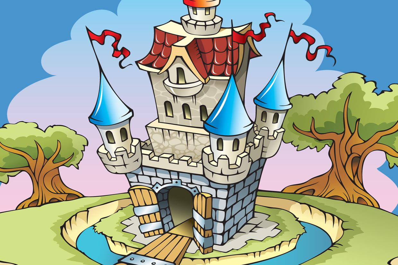 Coloriage Château Sur Hugolescargot tout Image De Chateau Fort A Imprimer