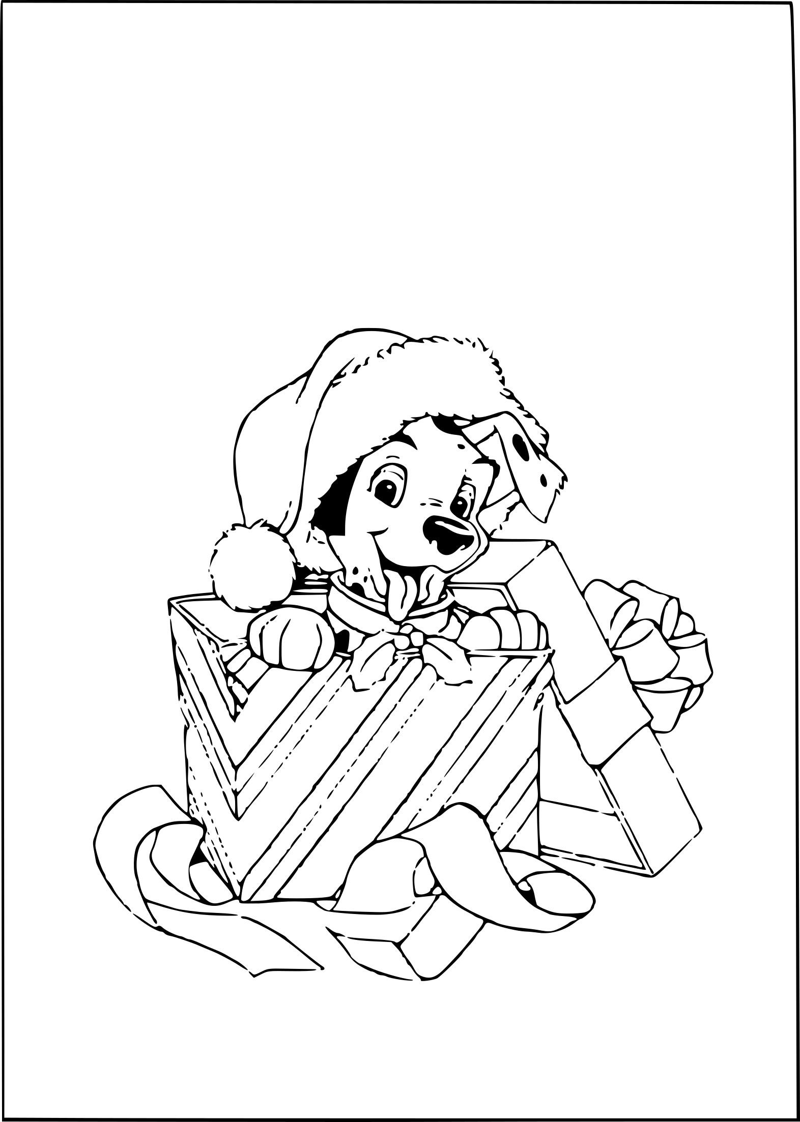 Coloriage Chiot 101 Dalmatiens À Imprimer Sur Coloriages à Coloriage De Chiot A Imprimer