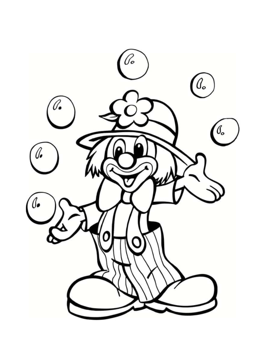 Coloriage Cirque : 28 Dessins À Imprimer Gratuitement serapportantà Coloriage A4 Imprimer Gratuit