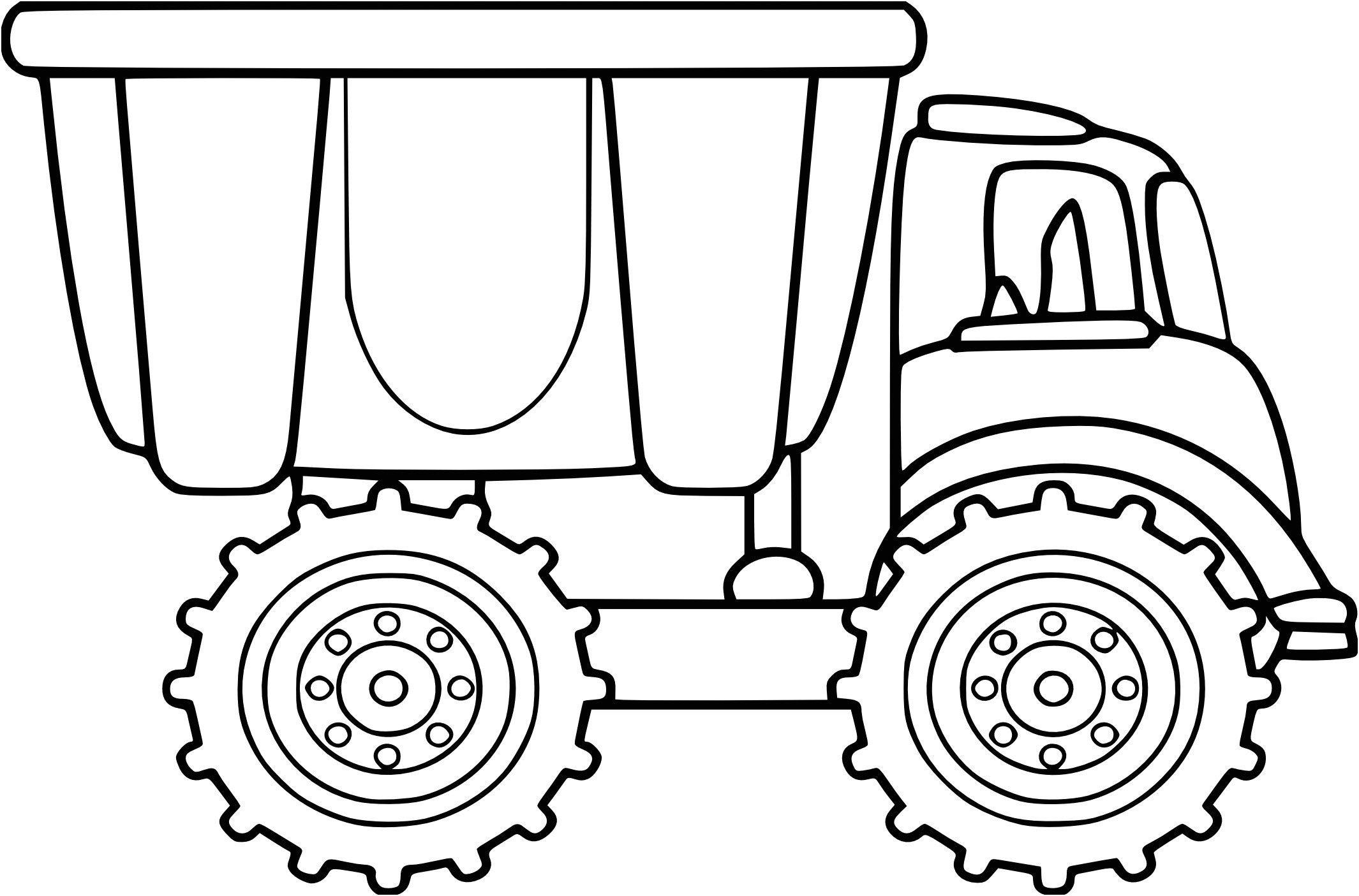 Coloriage De Camion On 23 Dessins De Coloriage Camion destiné Dessin D Un Camion