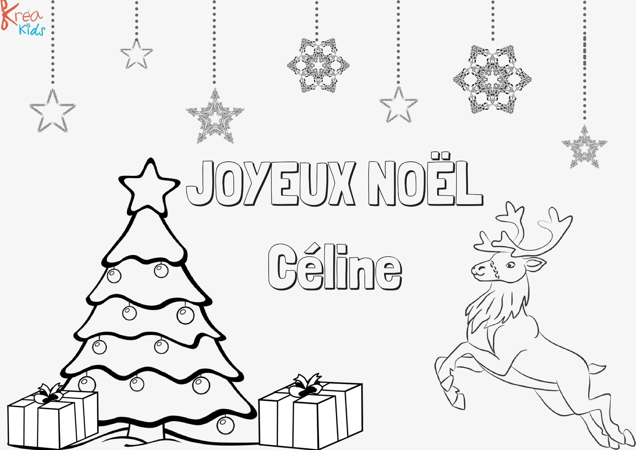 Coloriage De Noël Avec Prénom - Assistante Maternelle encequiconcerne Coloriage Pantin