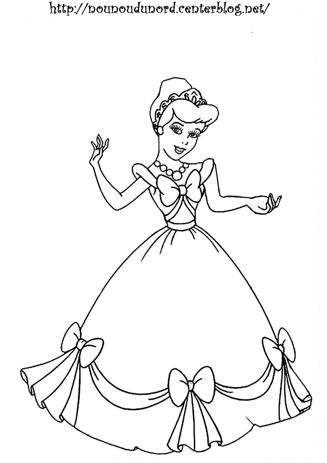 Coloriage De Princesse Disney Gratuit A Imprimer avec Coloriage Princesses Disney À Imprimer