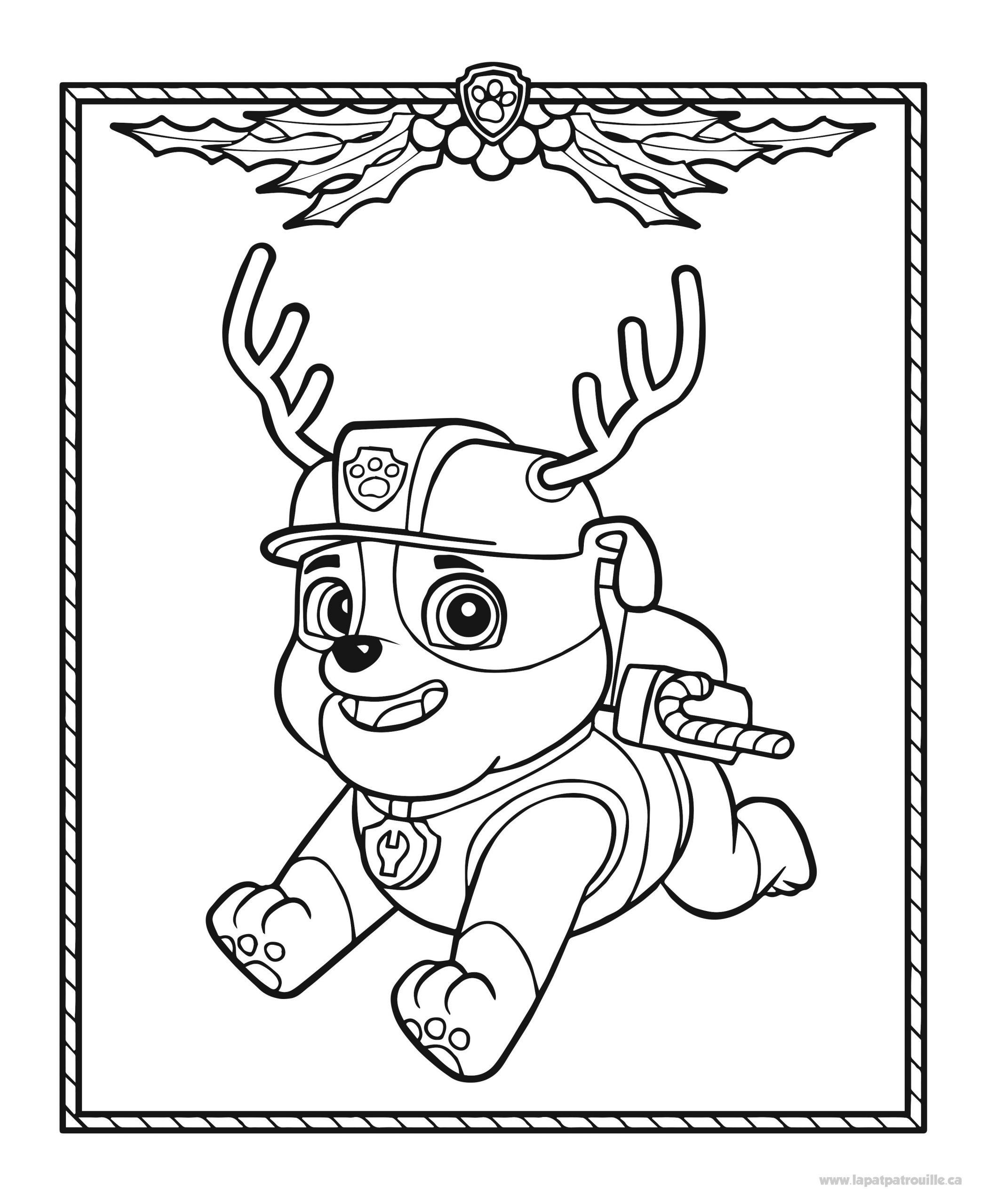 Coloriage De Ruben Qui Se Transforme En Renne Du Père Noël tout Dessins Pere Noel Imprimer