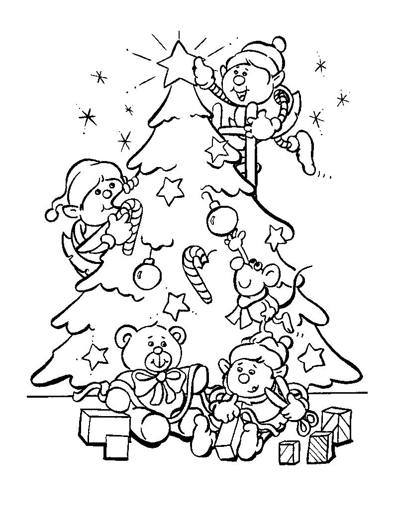 Coloriage De Sapin De Noël À Imprimer - Coloriage De Sapin serapportantà Coloriage De Sapin De Noel A Imprimer Gratuit