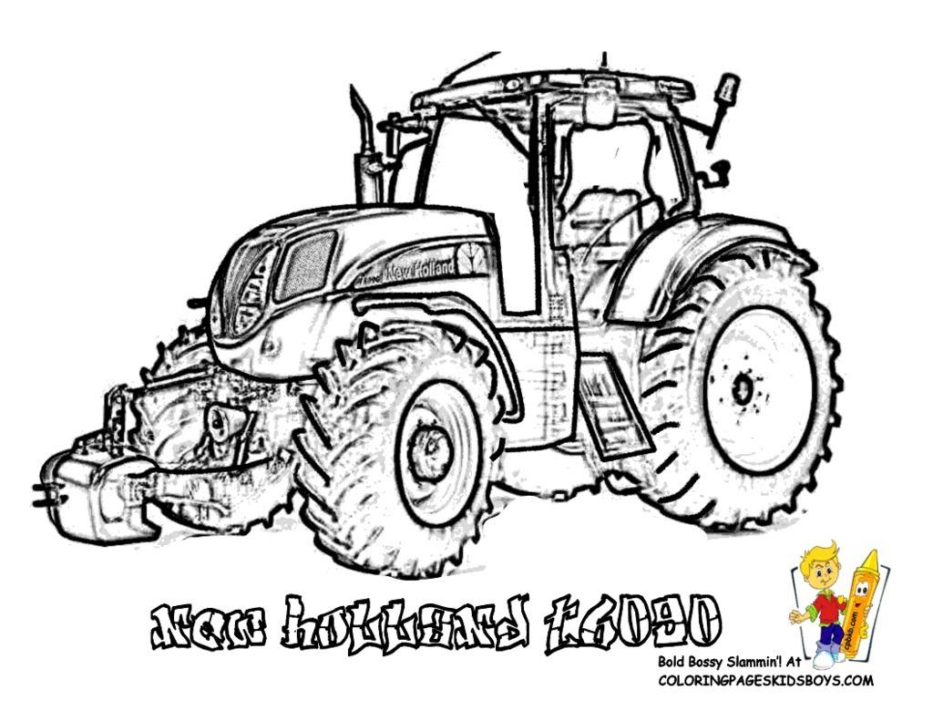 Coloriage De Tracteur Fendt At Gavindegraw encequiconcerne Tracteur À Colorier
