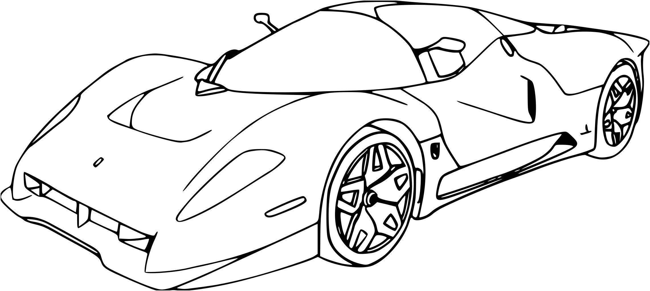 Coloriage De Voiture De Rallye Fresh Coloriage Fast And concernant Ferrari A Colorier