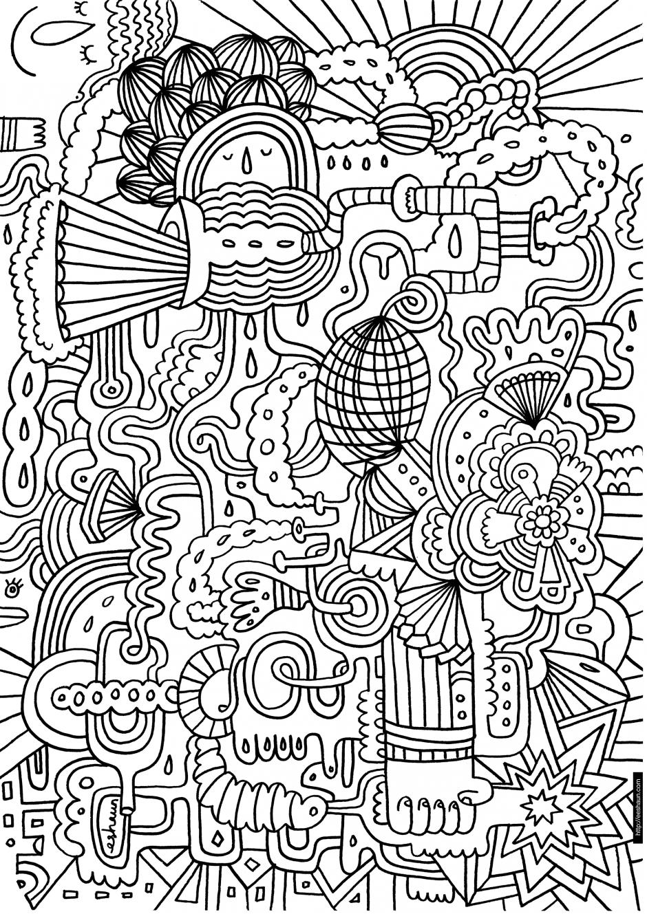 Coloriage Difficile En Ligne Gratuit | Coloriage, Pages De encequiconcerne Coloriage Magique Dur