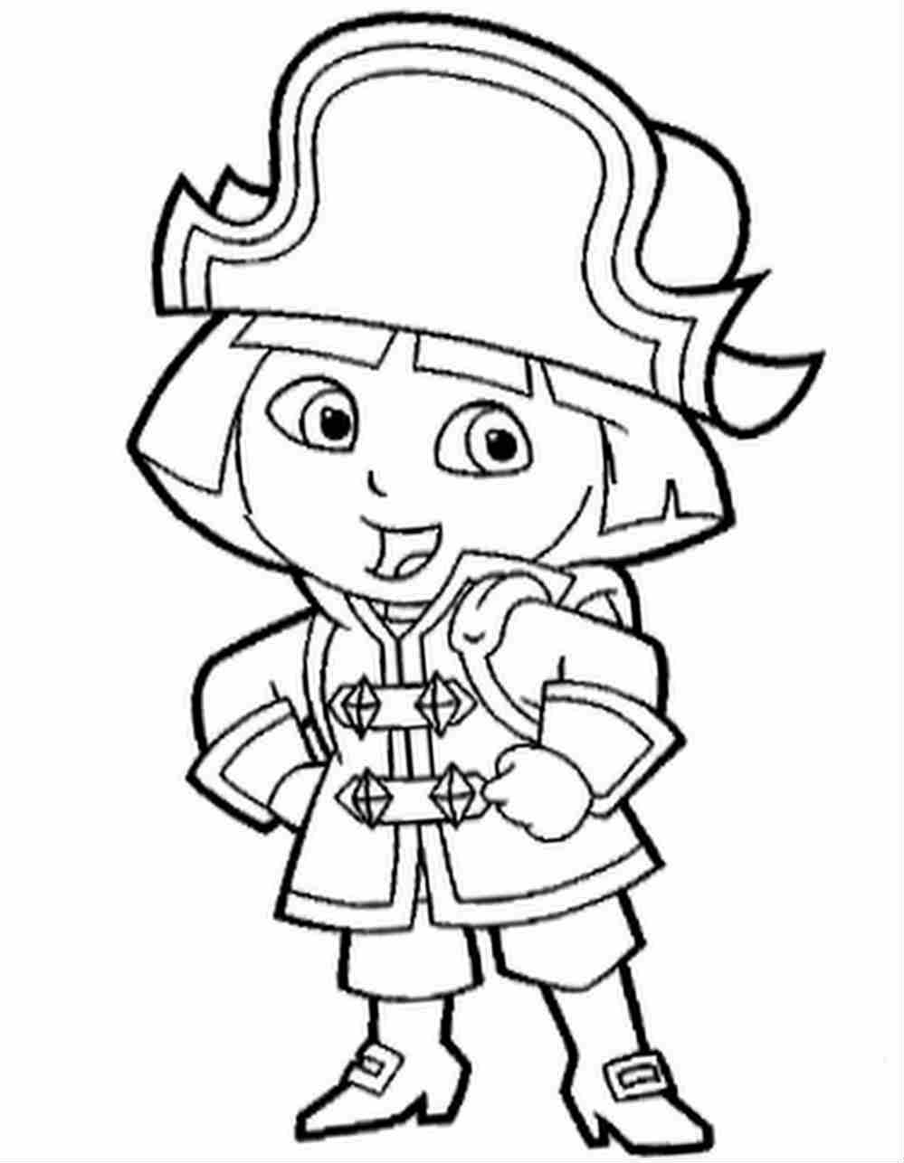 Coloriage Dora encequiconcerne Coloriage Dora Princesse