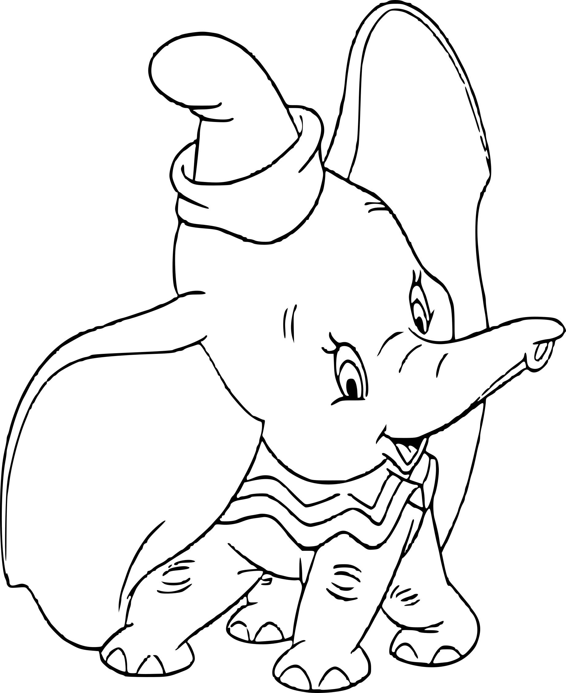 Coloriage Dumbo Disney À Imprimer Sur Coloriages à Dessin Dumbo