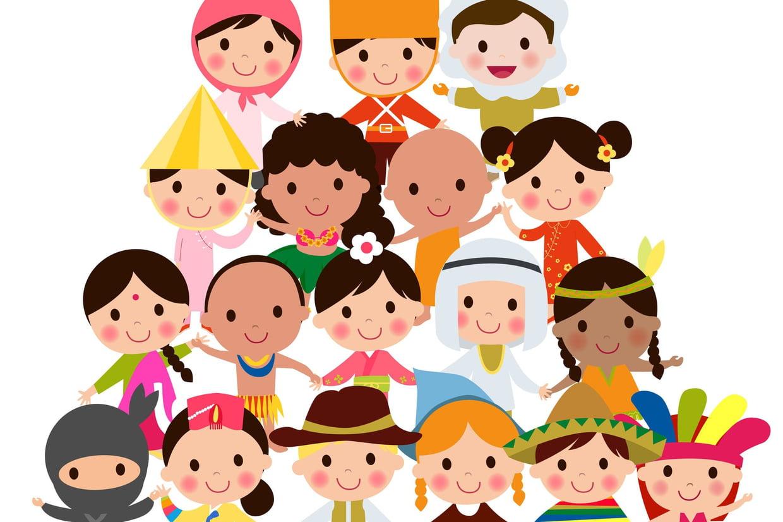 Coloriage Enfants Du Monde Sur Hugolescargot intérieur Tous Les Coloriages Du Monde