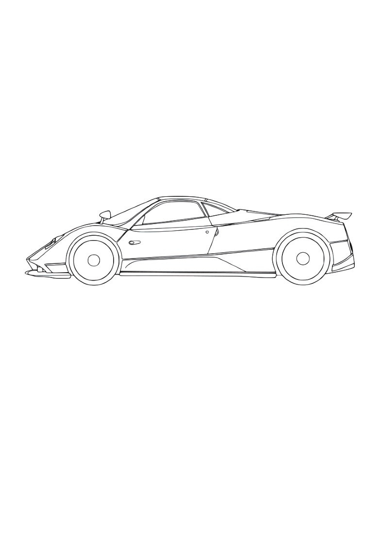 Coloriage Ferrari - Oh Kids Fr pour Ferrari A Colorier