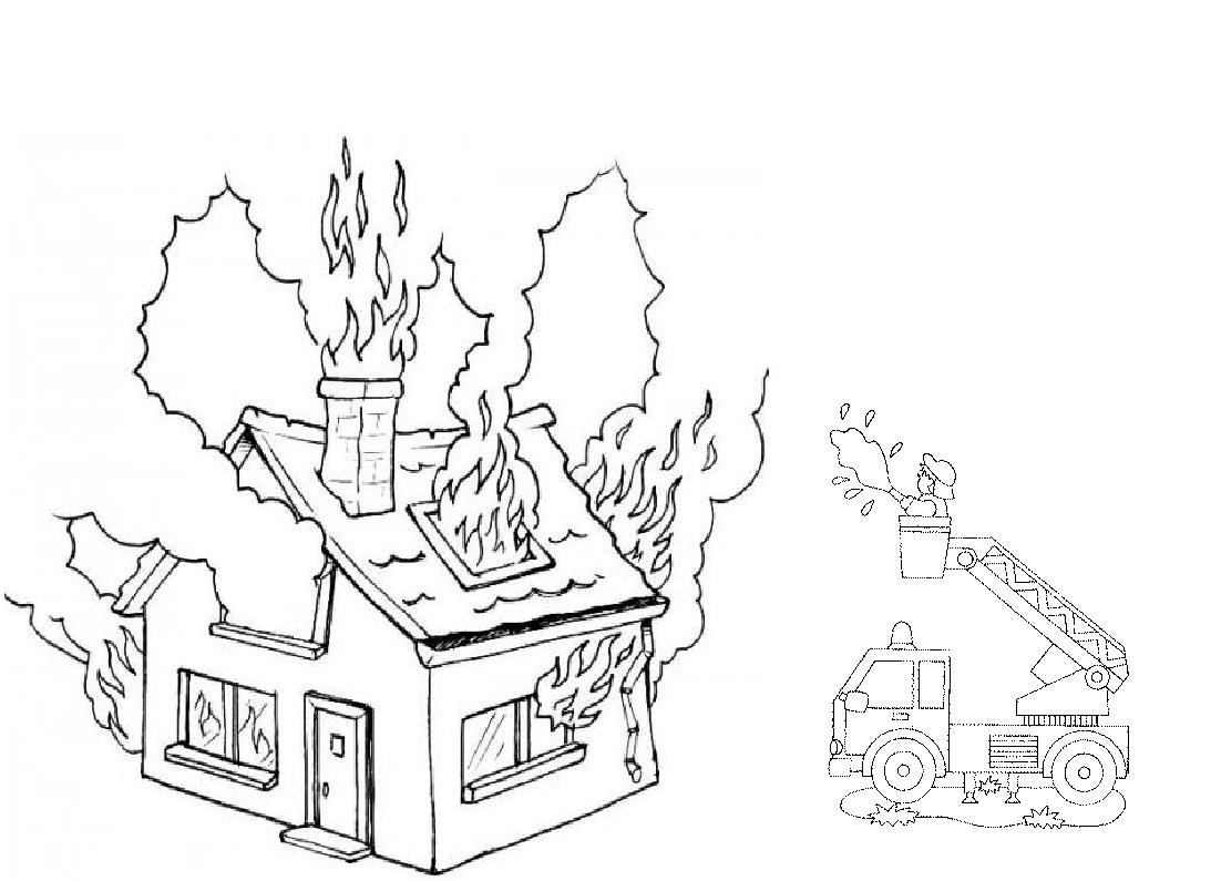 Coloriage Feu - Les Beaux Dessins De Autres À Imprimer Et tout Coloriage Pompier A Imprimer Gratuit