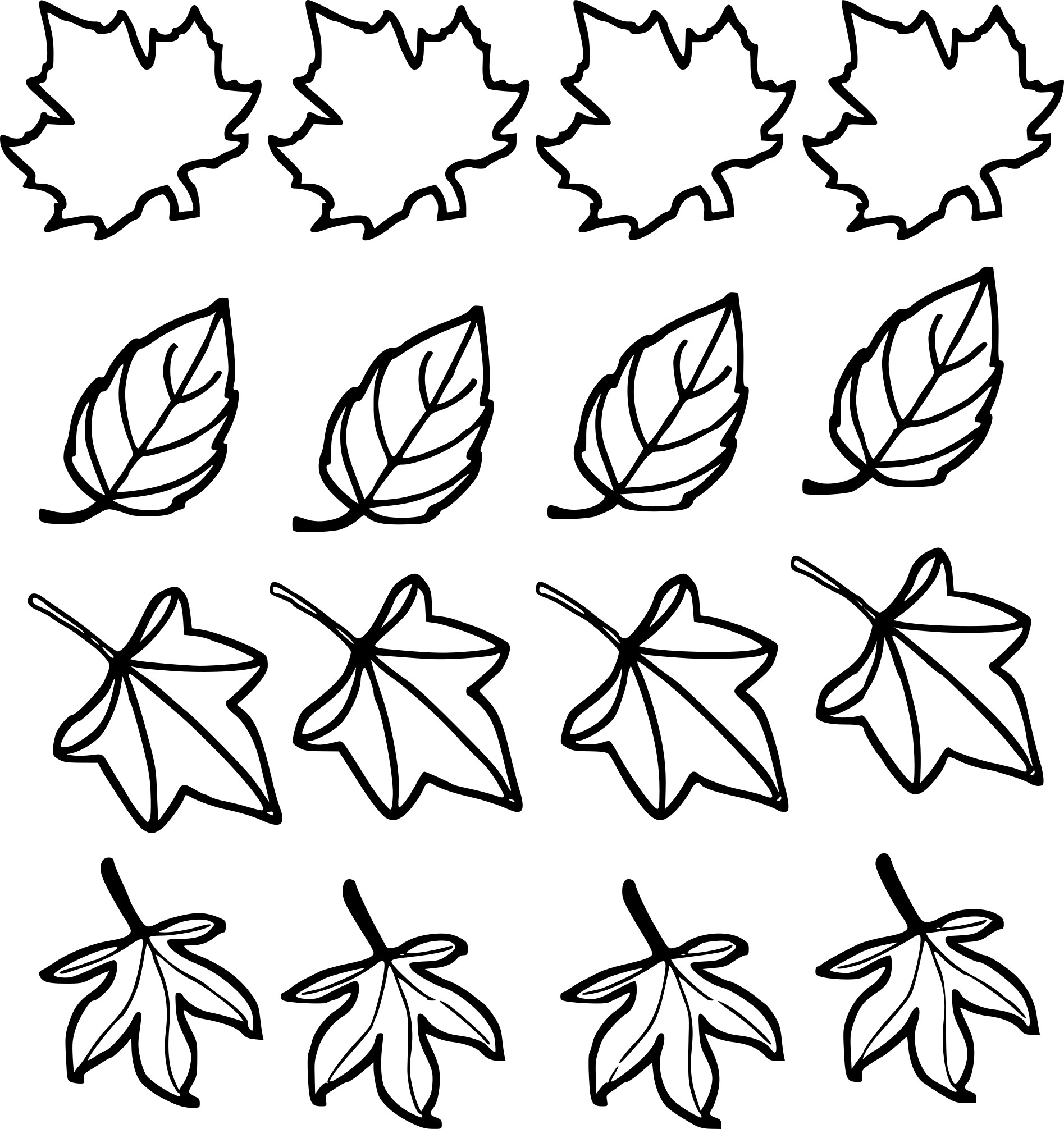 Coloriage Feuilles D'automne À Imprimer Sur Coloriages pour Dessin De Feuille D Automne