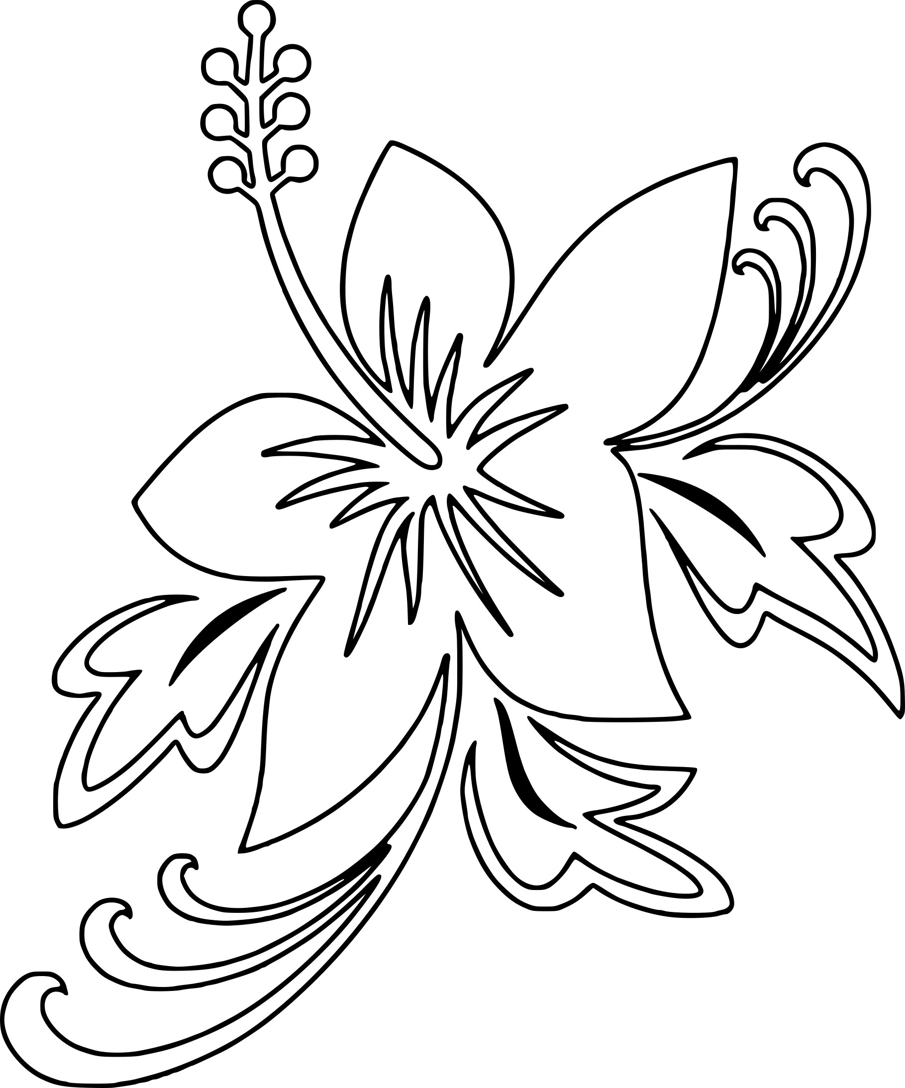 Coloriage Fleur D'été À Imprimer Sur Coloriages avec Dessin A Colorier De Fleur