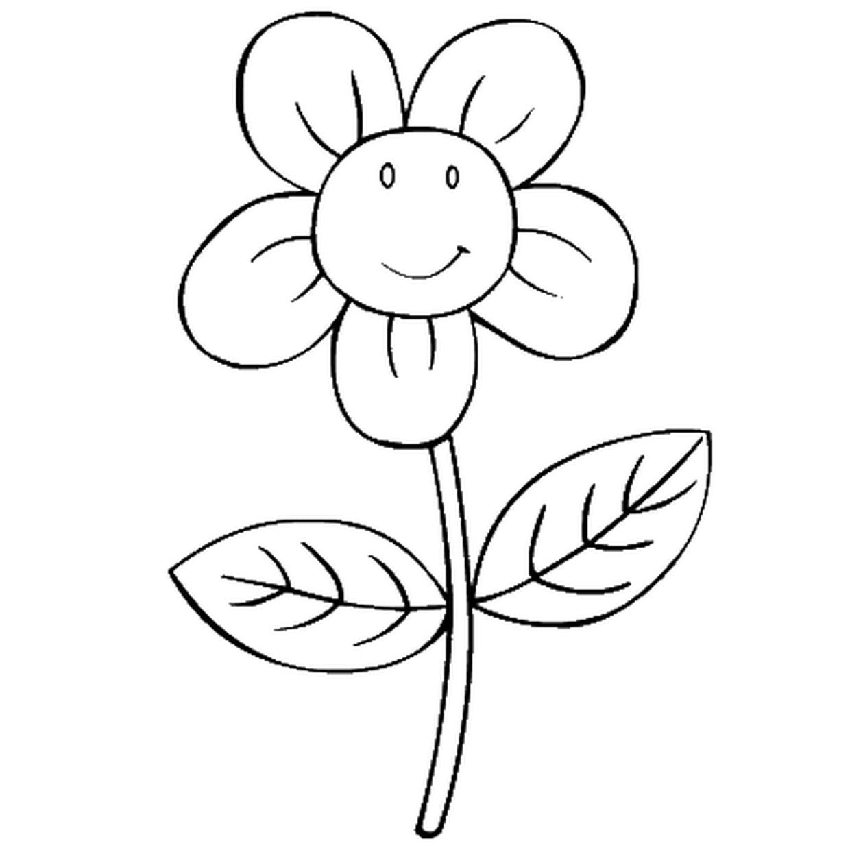 Coloriage Fleurs En Ligne Gratuit À Imprimer à Dessin A Decouper Et A Imprimer