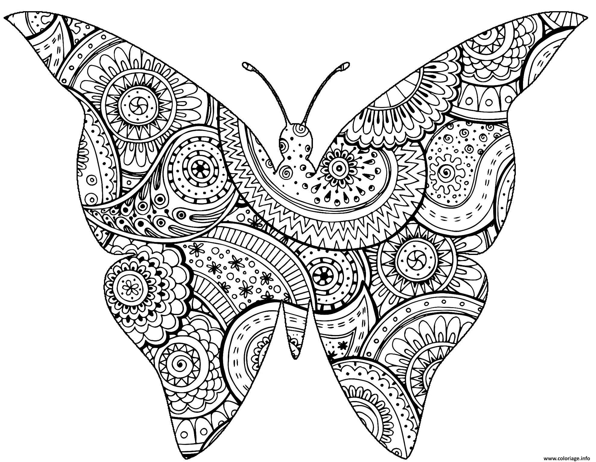 Dessin A Imprimer Papillon Gratuit - PrimaNYC.com