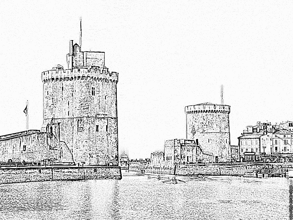 Coloriage La Rochelle Belle Et Rebelle 2 À Imprimer Pour Les à Dessin De Rebelle