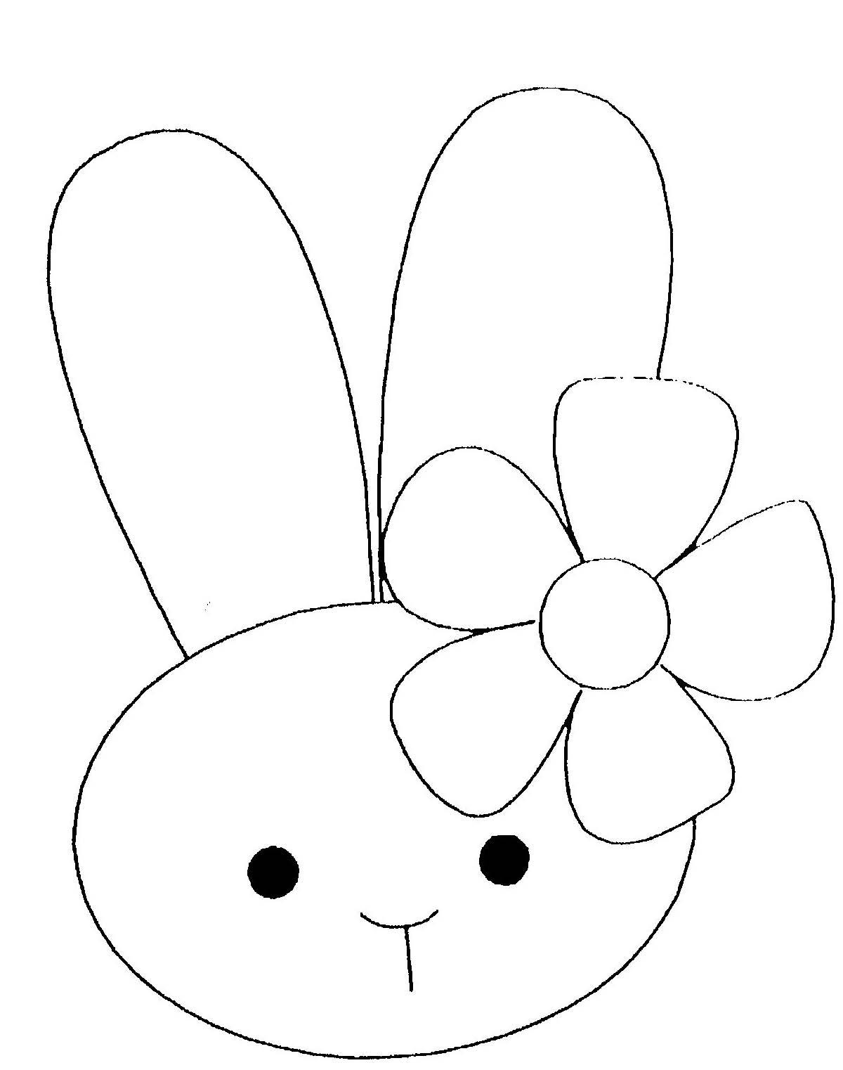 Coloriage Lapin - Les Beaux Dessins De Animaux À Imprimer Et concernant Dessin De Lapin A Imprimer